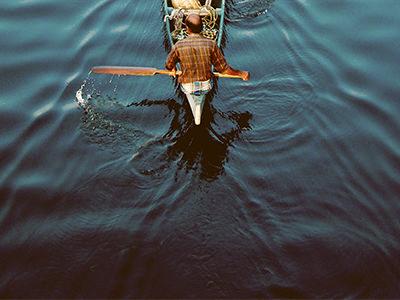 Canoeing Away
