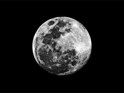 Moon HDR